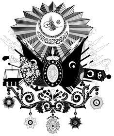 osmanlı arması çizim ile ilgili görsel sonucu