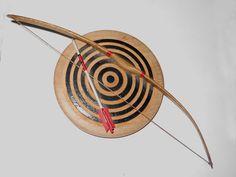 Bow, Arrow & Target Pin