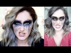 """I cannot even begin to explain how much fun i had creating this video! My first attempt at creating an inttro that is more """"Cinematic"""" so bare with me as i l. Halloween Christmas, Halloween Make Up, Halloween Costumes, Halloween Face Makeup, Warrior Makeup, Makeup Youtube, Drumline, Grunge Makeup, Snapchat Filters"""