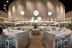 Photo Gallery :: Danforth Dining Hall :: University of Rochester University Food, University Of Rochester, Retail Interior Design, Wood Interior Design, Cafeteria Design, Museum Cafe, Space Gallery, Bar Seating, Food Court