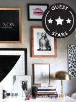 Peek At This Stylish Lady's Insanely Chic Space #refinery29