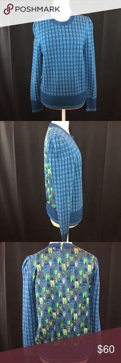Tory Burch Sweater. Zip up on back. Tory Burch Sweaters Crew & Scoop Necks