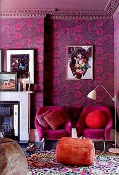 bohemian-style, lovely colours