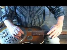 Slant chords on the Dobro guitar