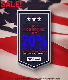 We're celebrating our 4th of July with a 3 day weekend long sale! Save 20% off when you use the code Fourth on your next orders. Hurry this sale ends soon!! Available only on stylishfabric.com #create #sew #style #fashiondesign #material #sales #4thofjuly #independencedaysale #style #stylishfabric