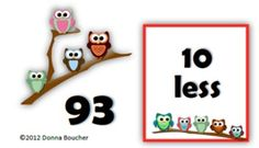 Common Core: Number Cards to 120, Wise Owls w/Activities