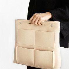 Bag in Bag Felt Casual Travel Multi-pockets Storage Bag Liner Package – Mollyca