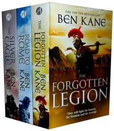 Forgotten Legion Chronicles Series Collection Ben Kane 3 Books Set. Forgotten Legion Series is one of the best Historical fiction series ever written by Ben Kane that includes popular titles like The Silver Eagle, The Forgotten Legion, and The Road to Rome.