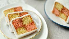 Gyönyörű és finom: így készül a Battenberg-sütemény Something Sweet, Yummy Treats, Fondant, Sweets, Cookies, Christmas, Recipes, Diy, Bakken