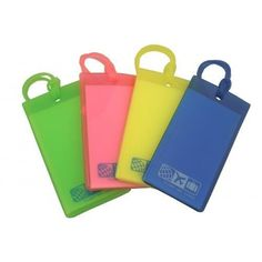 F1 Set of 4 Rubber Luggage Tags