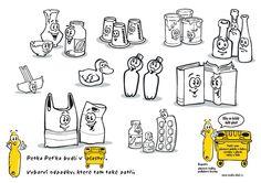 School Classroom, Jar, Recycling, Jars, Glass