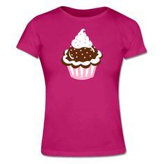 Cup Cake Frauen T-Shirt