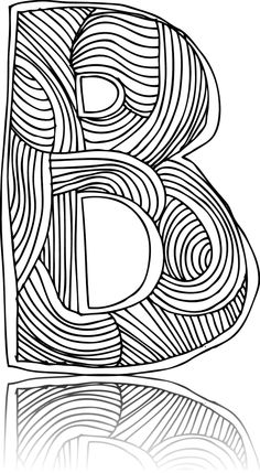 Make learning the alphabet fun with fancy (and free!) letters ready to be colored in by your little learner.