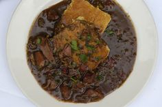 Roux becomes the base for this étouffée, which uses plenty of smoky, chunky Cajun andouille and well-seasoned chopped duck meat If you have a favorite Chinese barbecue restaurant, you can buy a duck there Even grocery store rotisserie chicken will work.