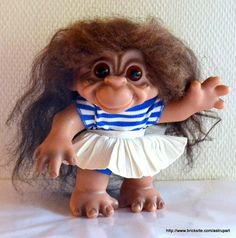 DAM monkey girl, MINT condition.
