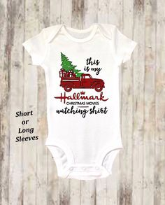 f55a0bf8b Baby Onesie ®, Hallmark Onesie ®, Christmas Onesie ®, Christmas Movie Onesie  ®, Baby Girl, Baby Clothing