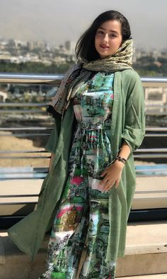 street fashion in iran , women's fashion in iran تیپ اسپرت دخترانه ایران Beautiful Iranian Women, Beautiful Hijab, Girl Fashion, Fashion Outfits, Womens Fashion, Fashion Design, Modern Hijab Fashion, Ethnic Fashion, Iranian Beauty