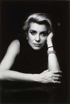 Helmut Newton: Catherine Deneuve, Paris1984 © Alice Springs Collection Maison Européenne de la Photographie, Paris.