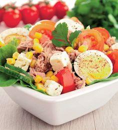 Seafood Recipes, Cooking Recipes, Healthy Recipes, Good Food, Yummy Food, Romanian Food, Vegetable Recipes, Cobb Salad, Salad Recipes