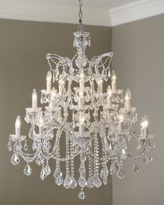 Maria Theresa 26-Light Chandelier - Neiman Marcus
