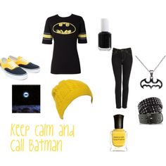 Batman, created by scene-girl-foreva on Polyvore