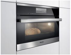 """$3.8 (std.) - DGC6700XL Miele 60 cm (24"""") ContourLine Combination Steam-Convection Oven with M Touch Controls - Stainless Steel"""