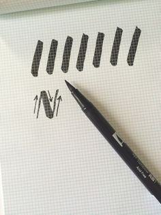 A Beginner's Guide to Brush Lettering Review by Holly McCaig. A quick tutorial.