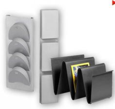 A range of brochure holders from floor standing to desk standing for pamplets, magazines and flyers Brochure Holders, Office Accessories, Office Furniture, Flyers, Bookends, Office Supplies, Organization, Flooring, Stuff To Buy