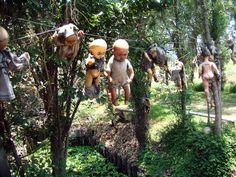 L'île des poupées, Mexique - http://www.photomonde.fr/ile-des-poupees-mexique/