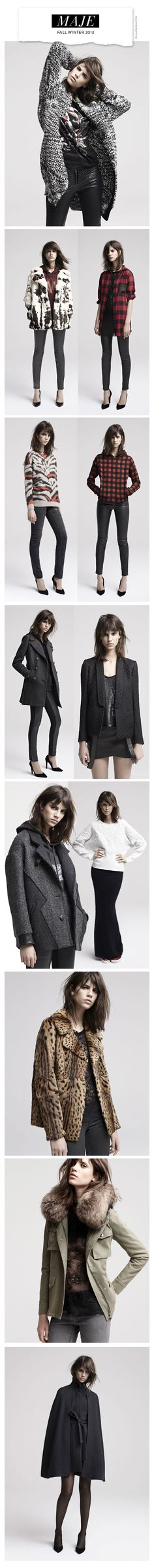 Maje Fall Winter 2013