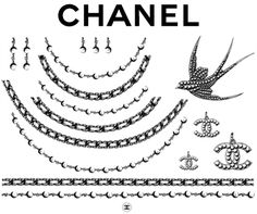 Chanel makes tats just for the likes of me.