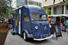 NEED!!! 1965 Citroen H Van (Crêperie Nicolas) South Bank, London