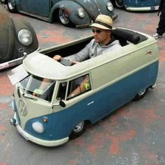 Best VW ever. - @Erica Nicole Pittman IDK what this is, if it's a ride on, or maybe a mini-go-kart, but it's definitely something awesome :D
