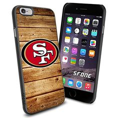 """San Francisco 49ers NFL Wood iPhone 6 4.7"""" Case Cover Protector for iPhone 6 TPU Rubber Case SHUMMA http://www.amazon.com/dp/B00VR3KGLW/ref=cm_sw_r_pi_dp_TAcewb1257YHY"""