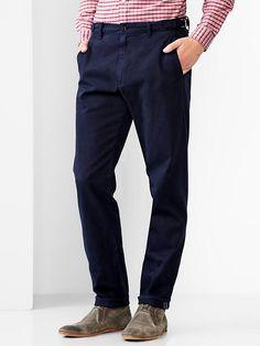 LINK : https://yroo.com/af/1446520/ruid/21327 Gap Men   GQ Brooklyn Tailors Selvedge Khaki Size 30W 32L - indigo | 39% OFF