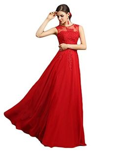 Tidetell 2015 Bridesmaid Long Lace Prom Dresses Sheer Back Evening Gowns, http://www.amazon.com/dp/B00O8TFRXE/ref=cm_sw_r_pi_awdm_0JZdvb1EC3JB8