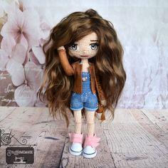 Crochet Doll 🌸 embroidery eyes Amigurumi Doll, Hipster, Homemade, Embroidery, Dolls, Eyes, Crochet, Fictional Characters, Instagram