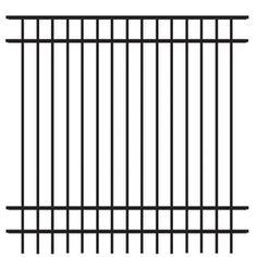 freedom standard new haven black aluminum decorative fence panel common 6ft x