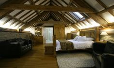 the grainstore suite so tudor Upstairs Bedroom, Bedroom With Ensuite, Lilo And Stitch Series, Lilac Room, Log Burner, Best Hotel Deals, Rustic Elegance, Lounge Areas, Bar
