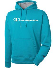 Champion Men's Script Logo Powerblend Hoodie In Tidal Wave Skull Fashion, Punk Fashion, Lolita Fashion, Fashion Boots, Trendy Hoodies, Vans Outfit, Script Logo, Cute Comfy Outfits, Mens Activewear
