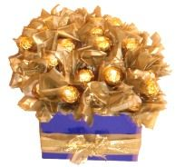Chocolate Bouquet simple to make and a perfect Mothers Day Gift