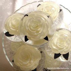 3D Gelatin Roses