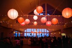 "Colorful paper lantern wedding decor from Luna Bazaar that'll make you go ""WHOA"" 