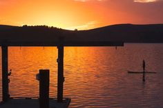 Tomales bay right on the dock - Get $25 credit with Airbnb if you sign up with this link http://www.airbnb.com/c/groberts22