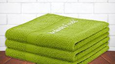 Handdoek met Naam (verschillende kleuren)