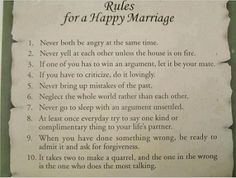 If every married couple stood by these, there would be so many happier marriages! Husband Quote