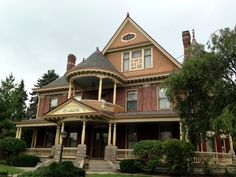 Holloway- Victorian Queen Anne - Greenfield, Indiana by Historic House Colors