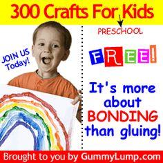 Gummy Lump Toys Blog: 300 Crafts for Kids: Preschool Crafts for Kids