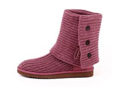 Classic Cardy Women's Ugg Boots- Dusty Rose Linen.