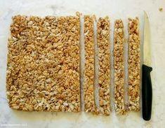 חטיף אנרגיה מהיר של פצפוצי אורז, טחינה, שומשום וסילאן - מזמינים